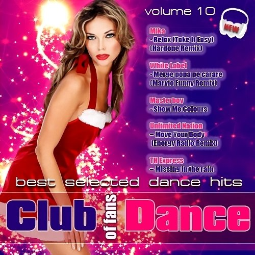 VA - Club of fans Dance Vol.10 ( MP3 | 2013 )