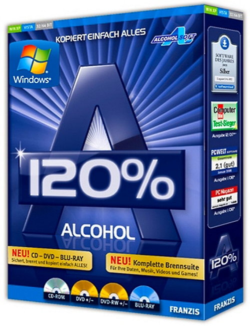 Alcohol 120% 2.0.3.6828 Final Retail + Rus