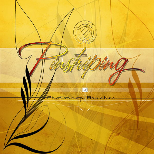 Photoshop brushes - Pinstriping