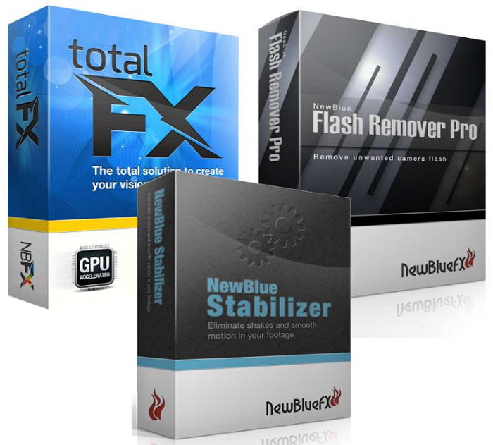 NewBlue TotalFX 3.0.140730 + Flash Remover Pro 3.0.140730 + St...